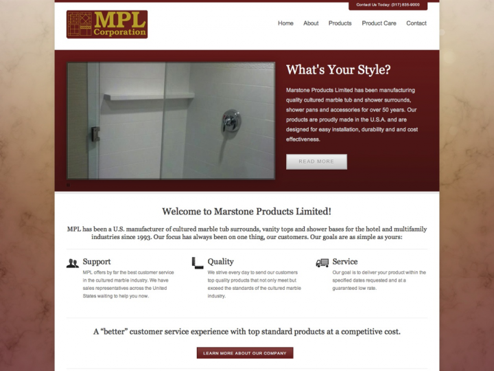 New Website: Marstone Products Limited