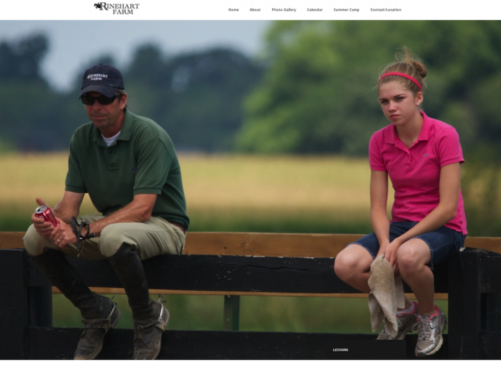 New Website: Rinehart Farm