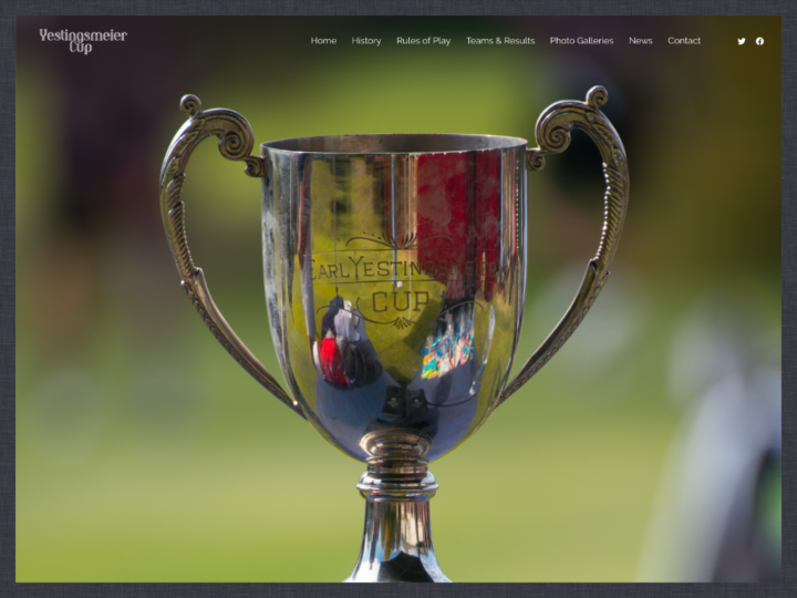 New Website: Yestingsmeier Cup